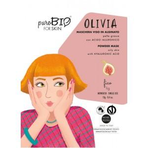 Olivia 11 - maseczka alginatowa PEEL OFF Figa do cery tłustej - PuroBIO 10ml