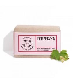 Peelingujące mydło Porzeczka - Mydlarnia Cztery Szpaki 110g