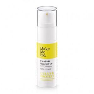Ultralekki krem do twarzy PSF 30 - Make Me Bio 30 ml