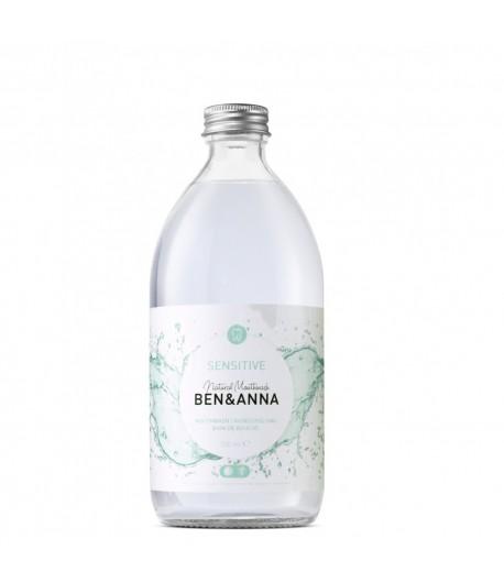 Naturalny płyn do płukania jamy ustnej z aloesem, szałwią i olejkiem miętowym - BEN&ANNA 500 ml