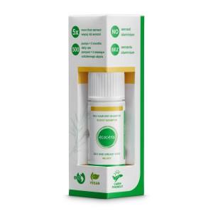 Suchy szampon do włosów przetłuszczających się - Ecocera 15g