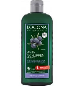 Szampon przeciwłupieżowy z Olejkiem Jałowcowym - Logona 250 ml
