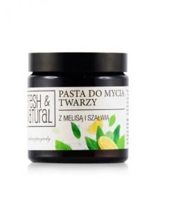Pasta do mycia twarzy w szklanym opakowaniu - Fresh&Natural 100 ml