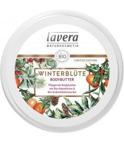 WINTER BLOOM Pielęgnacyjne masełko do ciała z bio mandarynką i bio kokosem - Lavera 150ml