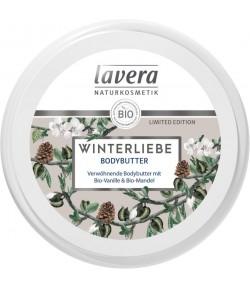 WINTER LOVE Pielęgnacyjne masełko do ciała bio wanilią i bio migdałami - Lavera 150ml