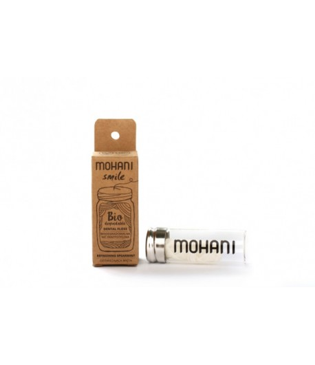 Biodegradowalna nić dentystyczna - miętowa - Mohani