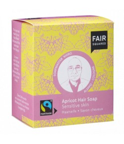 Morelowy szampon w kostce do wrażliwej skóry głowy - Fair Squared 2x80g