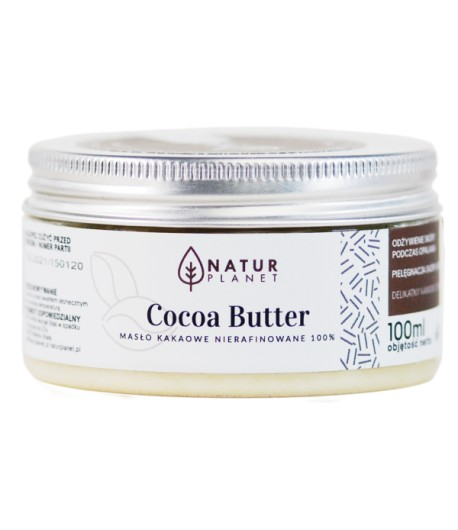 Masło Kakaowe - Natur Planet 100ml
