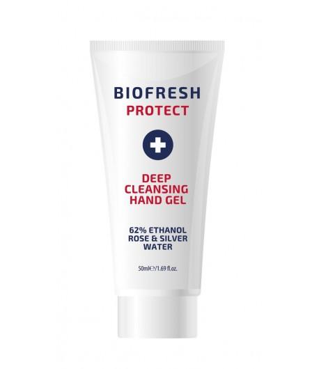 Antybakteryjny żel do rąk z wodą różaną i srebrem - Biofresh Protect 50 ml