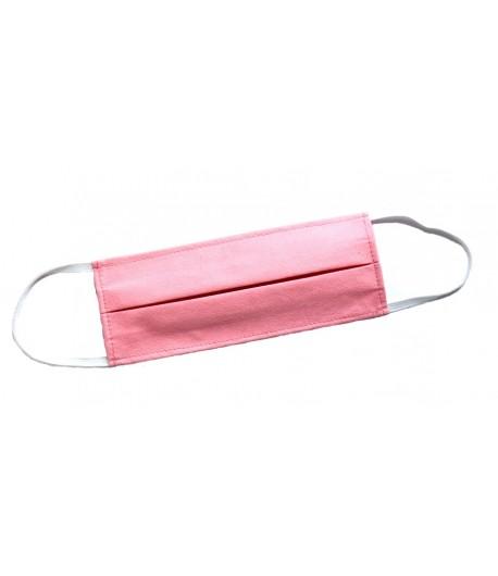 Wielorazowa maseczka ochronna rozmiar M - różowa - Loffme