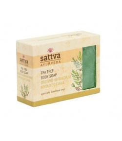 Mydło glicerynowe Drzewo Herbaciane - Sattva - 125 g