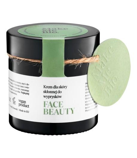 Face Beauty - Krem dla skóry skłonnej do wyprysków - Make Me Bio 60 ml