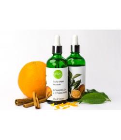 Suchy olejek do ciała - Pomarańcza z Cynamonem - Naturologia 100 ml