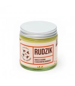 RUDZIK - Naturalna świeca sojowa - korzenna - Mydlarnia Cztery Szpaki