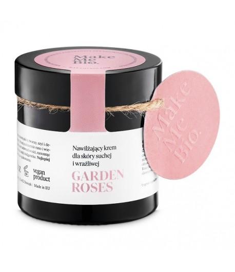 Garden Roses - Nawilżający krem dla skóry suchej i wrażliwej - Make Me Bio 60 ml