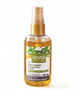 Olej z Henny Bio do olejowania włosów - Beaute Marrakech 100 ml