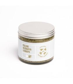 Peeling do ciała Rozmaryn i Konopie - Mydlarnia Cztery Szpaki 250 ml