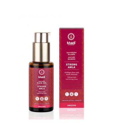 Wzmacniający olejek do włosów Amla - Khadi 50 ml