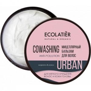 Micelarna oczyszczająca odżywka do włosów Anti-Poluttion - Ecolatier 380 ml