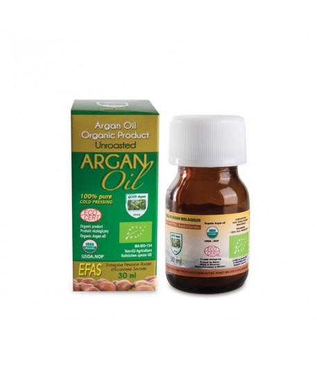 Olej Arganowy - 30 ml Efas butelka szklana