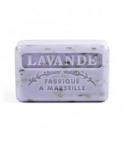 Mydło Marsylskie  z masłem shea (zapach kwiat lawendy) 125 g