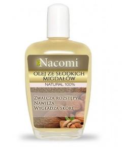 Olej ze słodkich migdałów - Nacomi 100 ml