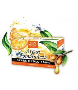 Mydło Potasowe - Argan, Pomarańcza - Etja 80 g