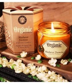 Sojowa świeca zapachowa Madurai Jasmine 200 g - Song of India