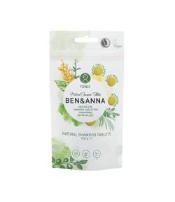 Naturalny szampon w tabletkach TONIC - BEN&ANNA 120g