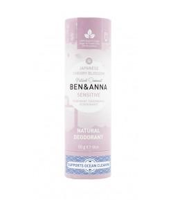 JAPANESE CHERRY BLOSSOM SENSITIVE Naturalny dezodorant bez sody - sztyft kartonowy - BEN&ANNA 60g