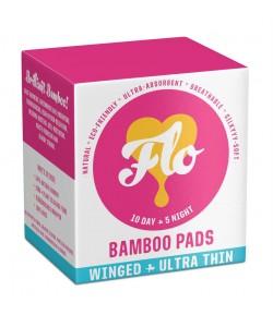 Podpaski higieniczne (zestaw 10 dzień + 5 noc ) - Flo