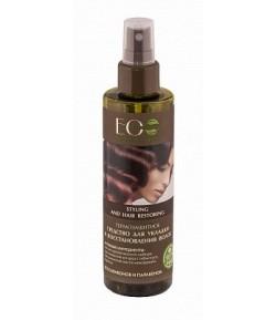 Środek do układania i regeneracji włosów - Termoochronny - EO LAB 200 ml