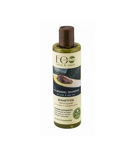 Szampon odżywczy - włosy osłabione i łamliwe - EO LAB 250 ml