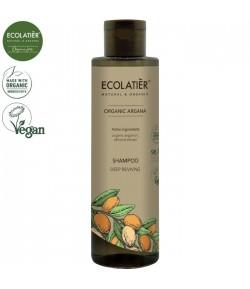 Szampon głęboko odzywiający z organicznym olejem arganowym - ECOLATIER 250 ml