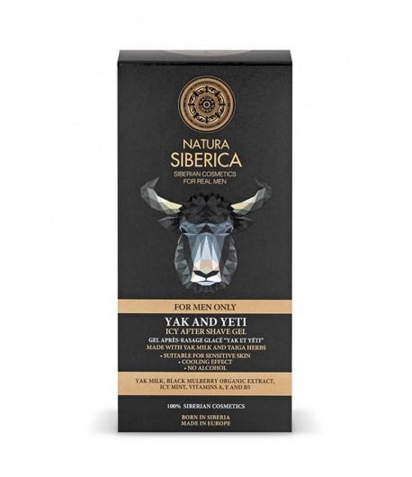 Chłodzący żel po goleniu - YAK & YETI - Natura Siberica Men 150 ml