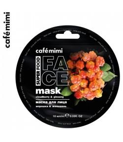 Maseczka do twarzy moroszka i żeń-szeń - CAFE MIMI 10 ml