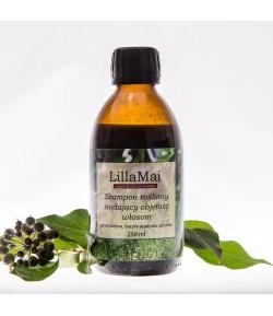 Szampon roślinny nadający objętość włosom - Lilla Mai 250 ml