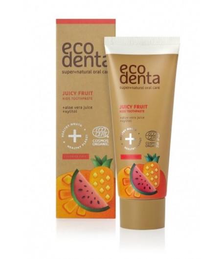 Owocowa pasta do zębów dla dzieci - Ecodenta 75 ml