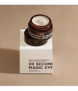 Liftingująco-naprawcze transformujące serum pod oczy 20 SECONDS MAGIC EYE TREATMENT - veoli botanica 15 ml