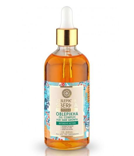 Rokitnikowy kompleks olei przyspieszający wzrost włosów - Natura Siberica Professional 100 ml