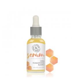 Serum hialuronowe z mleczkiem pszczelim i pantenolem - e-FIORE 30 ml