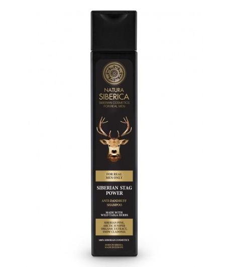 Szampon Przeciwłupieżowy - MOC MARALA - Natura Siberica Men 250 ml