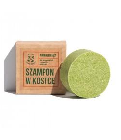Normalizujący szampon do włosów w kostce - Mydlarnia Cztery Szpaki 75 g