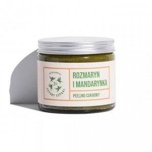 Peeling do ciała Rozmaryn i Mandarynka - Mydlarnia Cztery Szpaki 250 ml