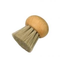 """Szczotka do czyszczenia grzybów """"kulka"""" - włosie naturalne- STARMANN"""
