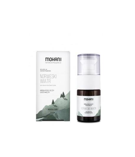 Norweski wiatr - odżywczy krem pod oczy - MOHANI 15 ml