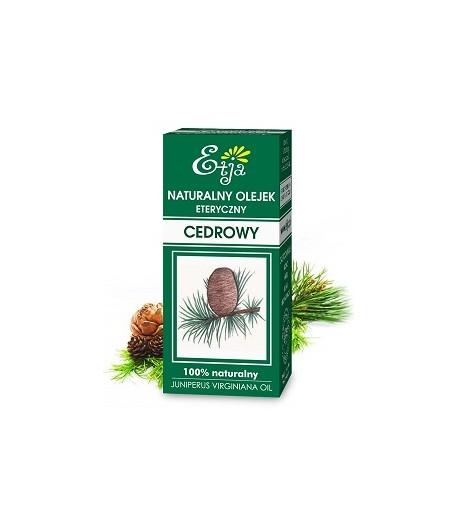 Olejek eteryczny - Cedrowy - Etja 10 ml