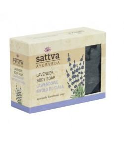 Mydło glicerynowe Lawenda - Sattva 125g