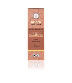 10 Ziół - antycellulitowy olejek ajurwedyjski - Khadi 100ml