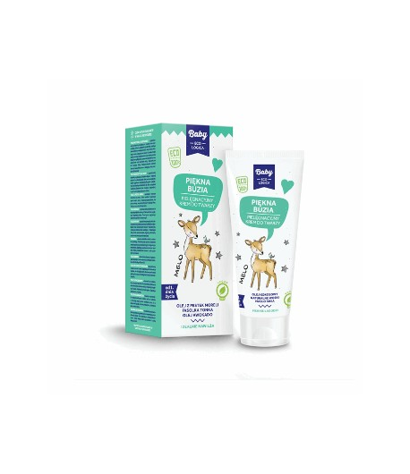 Piękna buzia - pielęgnacyjny krem do twarzy - Baby EcoLogica 50 ml